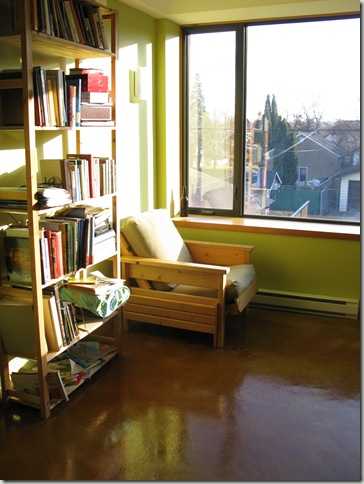 Mill Creek NetZero Home - second floor library