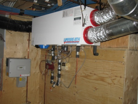 Mill Creek NetZero Home Heat Recovery Ventilator
