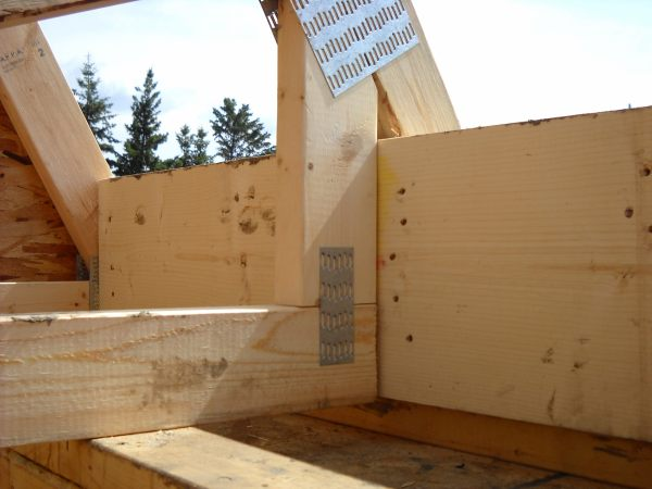 Photo Of Header And Trusses