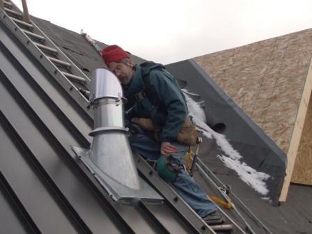 Stainless Steel Metal Flashing : Metal chimney pipe chimney flashing repair cost flashing for